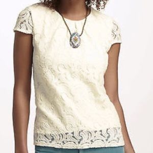 Weston Wear | Roiled Lace Popover Top